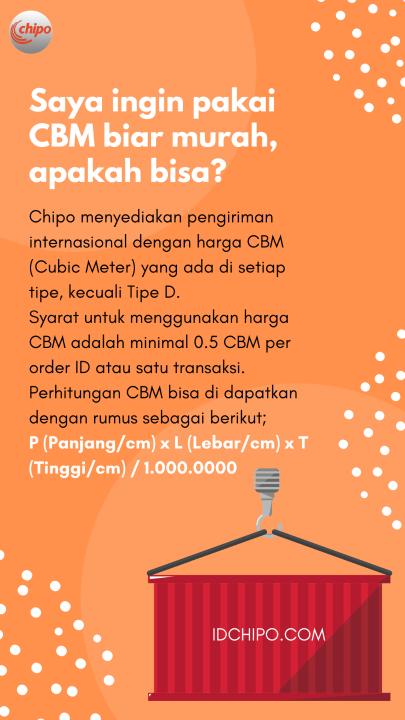 Perhitungan CBM dan rumusnya