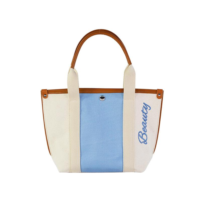 Guangdong custom stitching canvas handbags