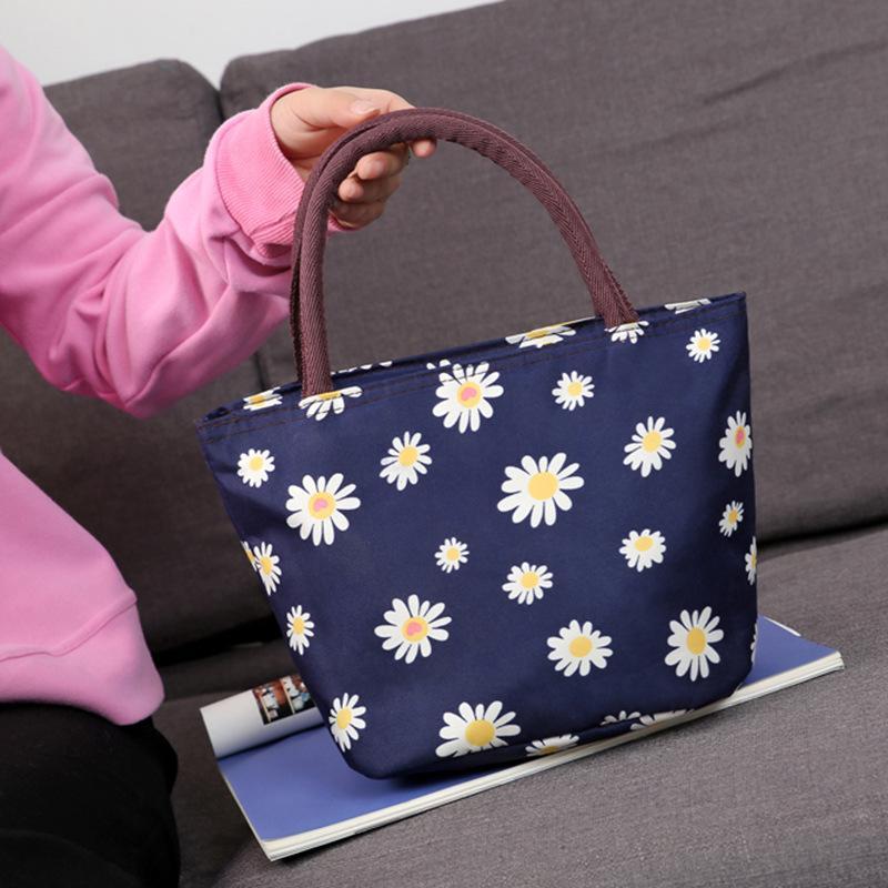 Thickened printed women's stereotyped handbag