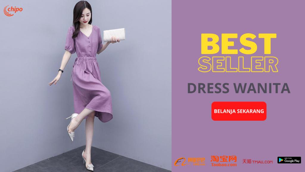 best seller dress wanita