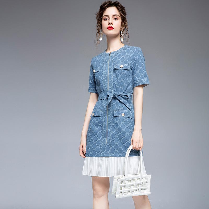 French niche new slim dress