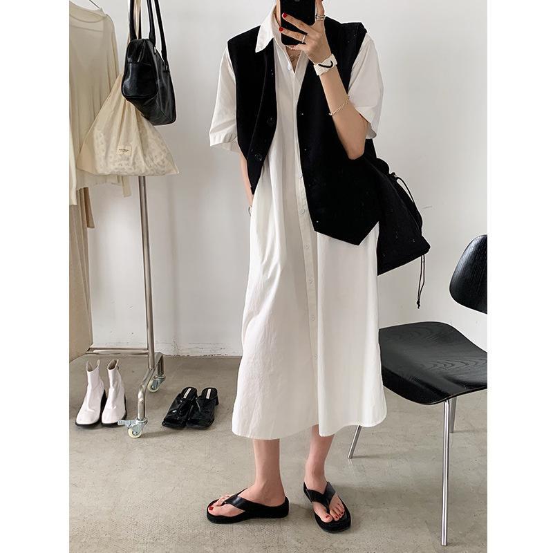 Korean skin-friendly loose new dress