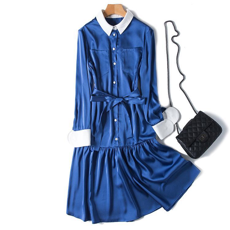 New designer niche autumn dress