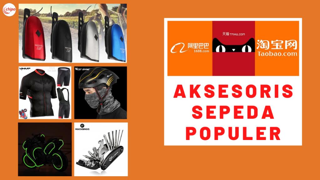 6 AKSESORIS SEPEDA TERBARU 2020 | IMPORT AKSESORIS SEPEDA DARI CHINA (TAOBAO, 1688 & TMALL)