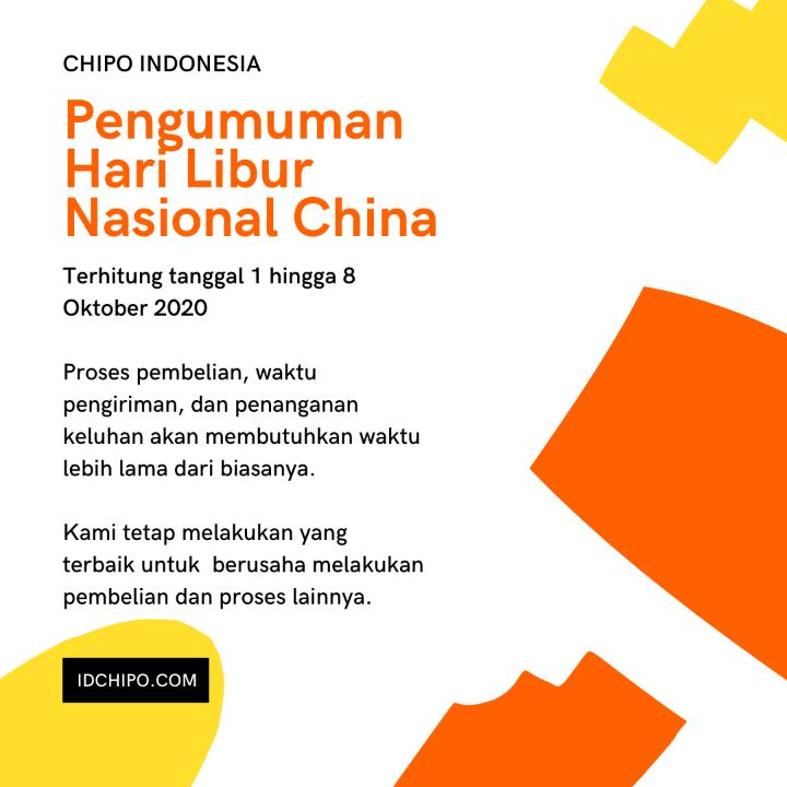 PENGUMUMAN HARI LIBUR NASIONAL DI CHINA